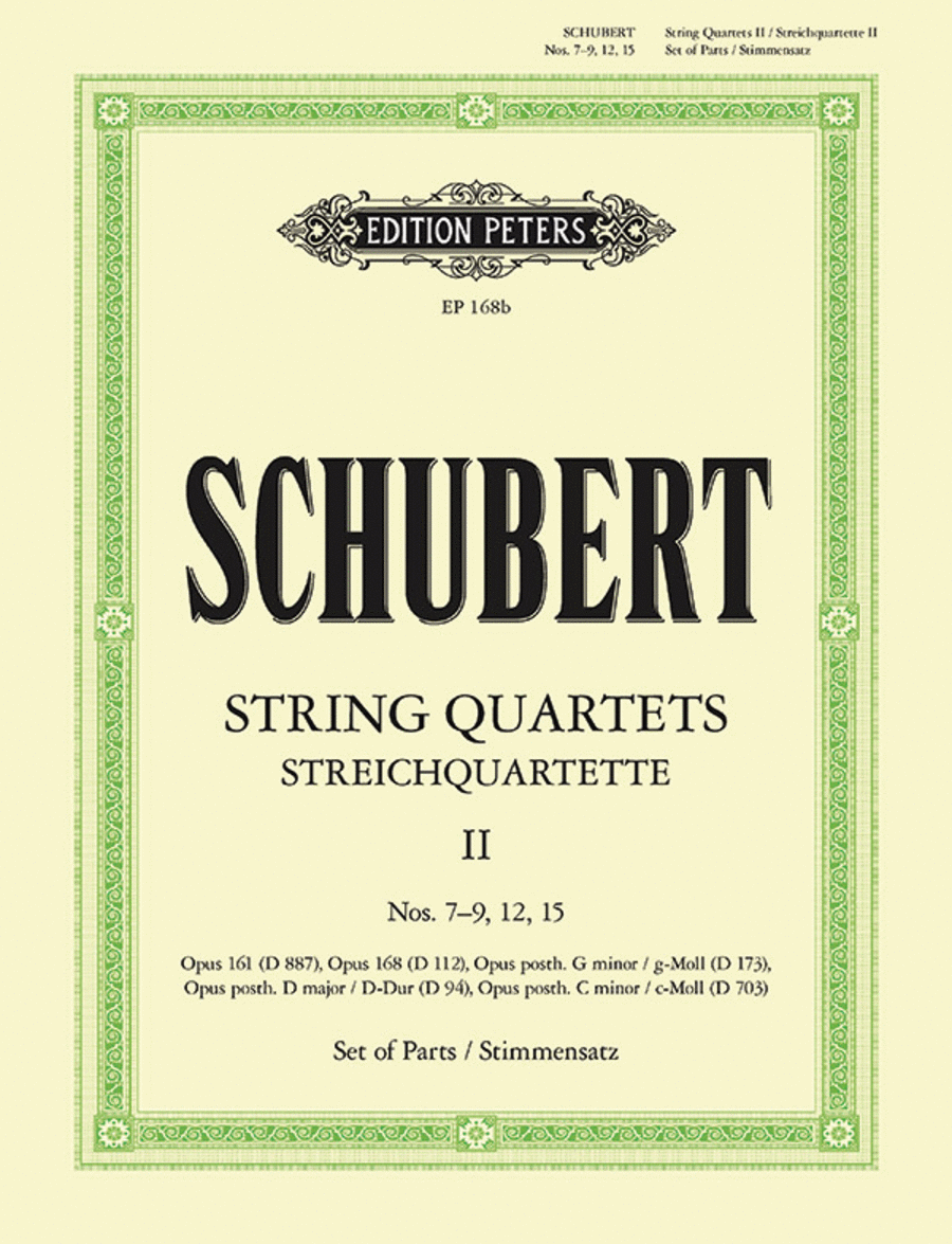 String Quartets, complete Vol.2