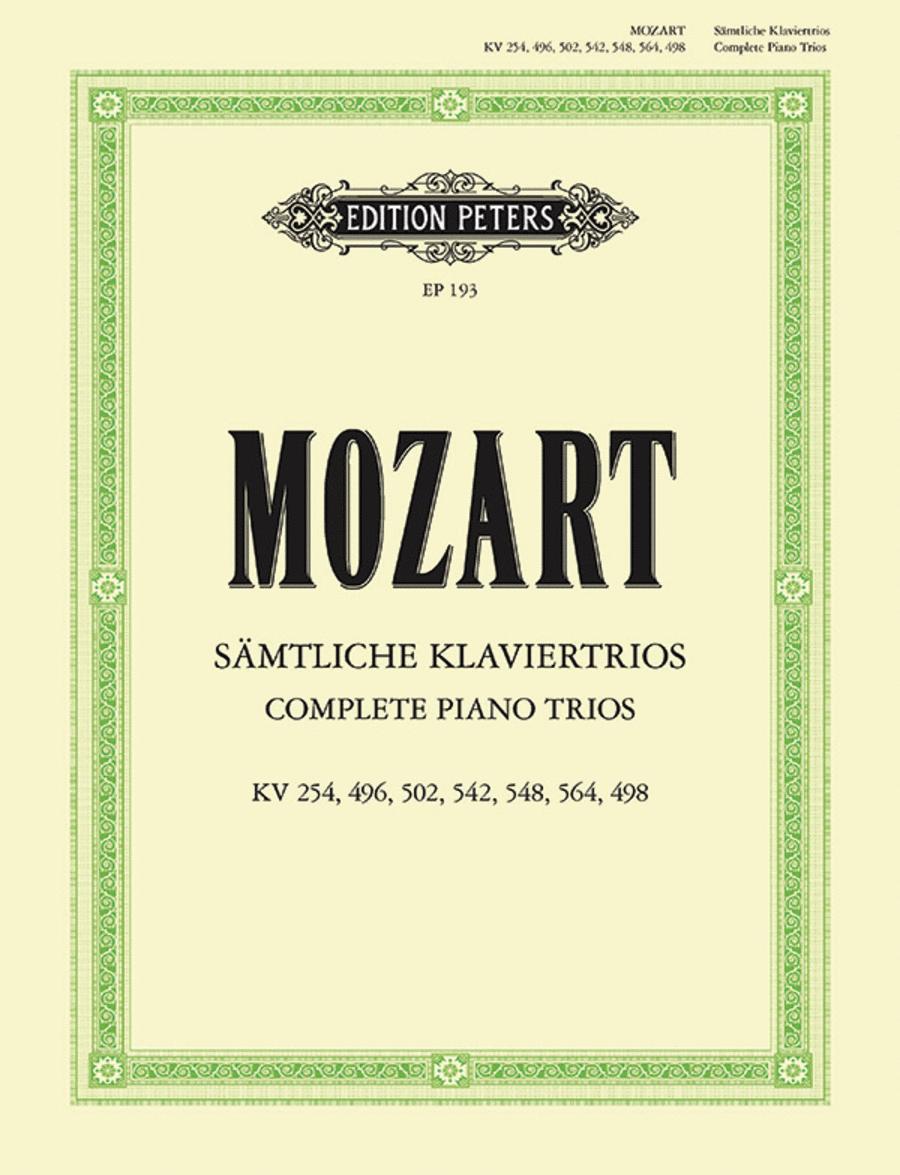 Piano Trios Complete Edition
