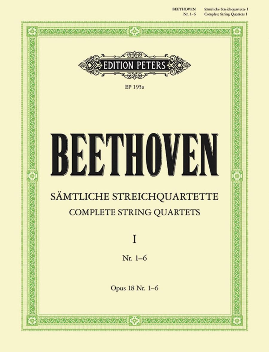String Quartets, Volume 1