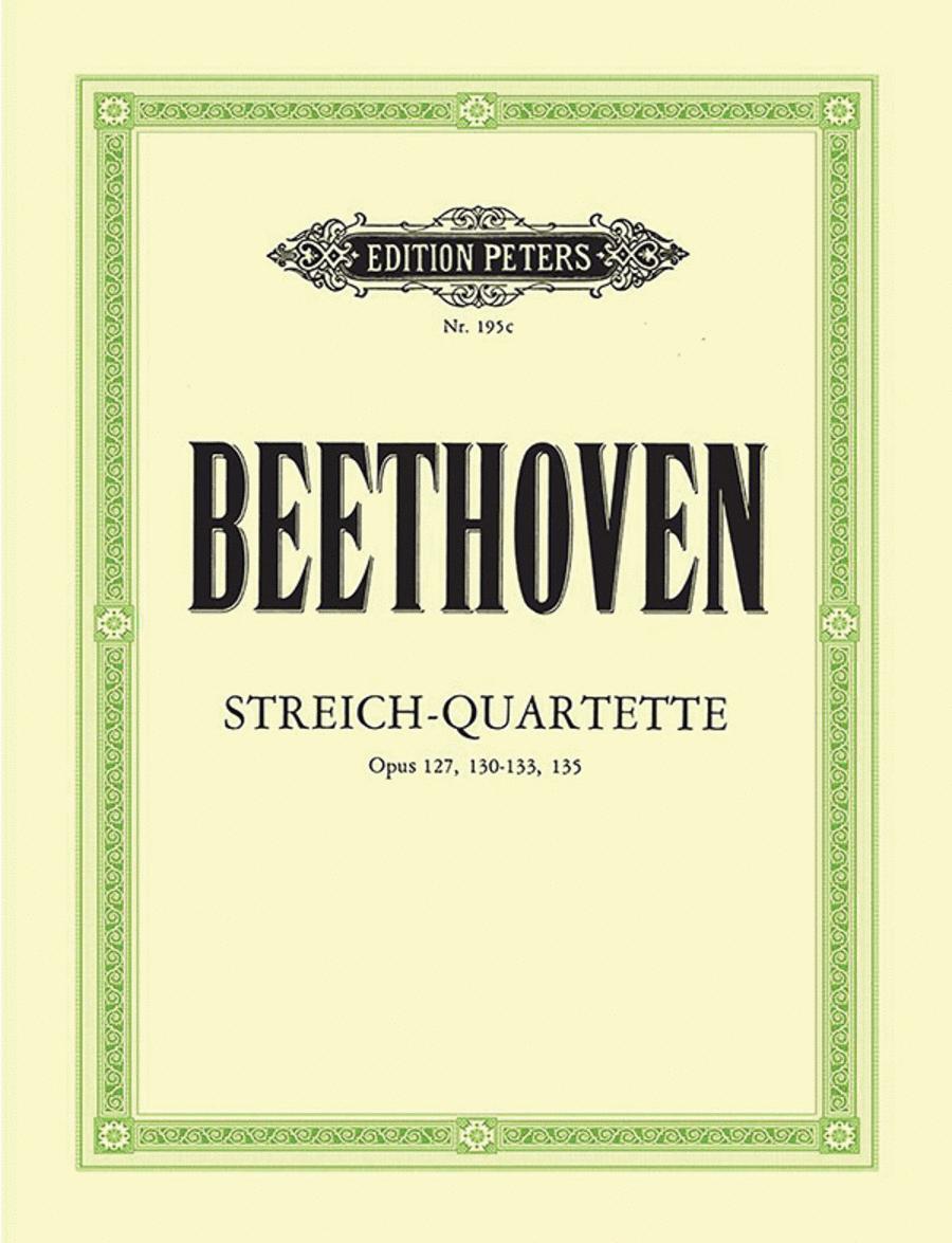 String Quartets, Volume 3
