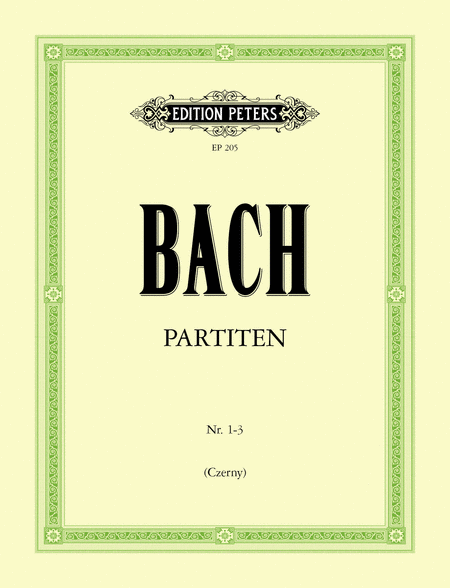 Partitas in 2 Volumes (Vol. 1, Nos.1-3)