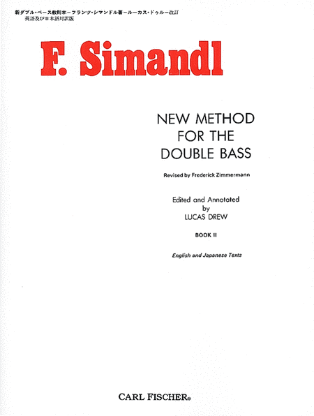 New Method for the Double Bass - Book II