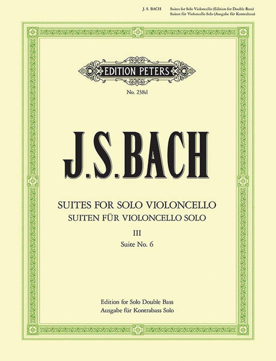 Suites for Solo Violoncello Vol. 3