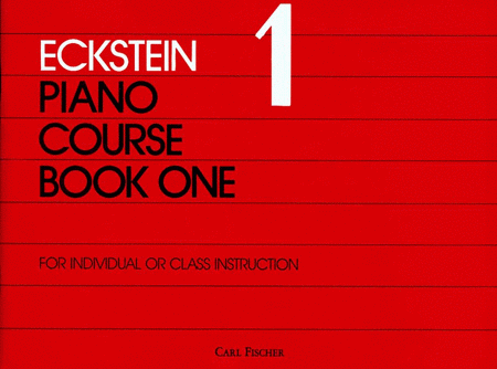 Eckstein Piano Course-Bk. 1