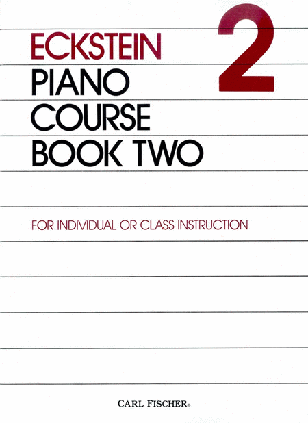 Eckstein Piano Course-Bk. 2