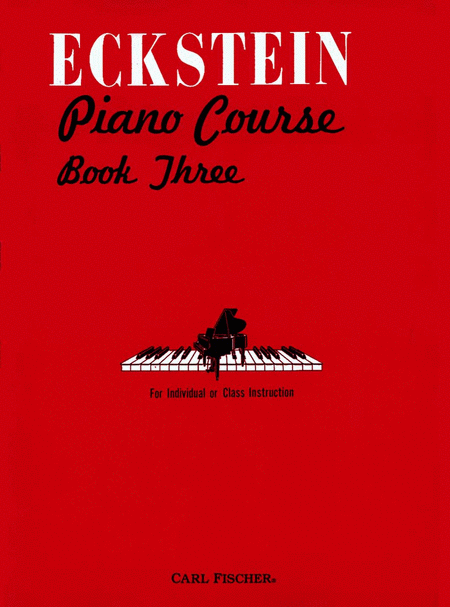 Eckstein Piano Course-Bk. 3