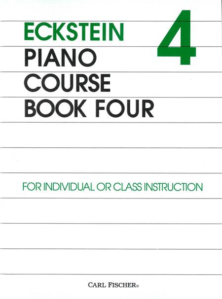 Eckstein Piano Course Book Four