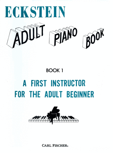 Eckstein Adult Piano Book