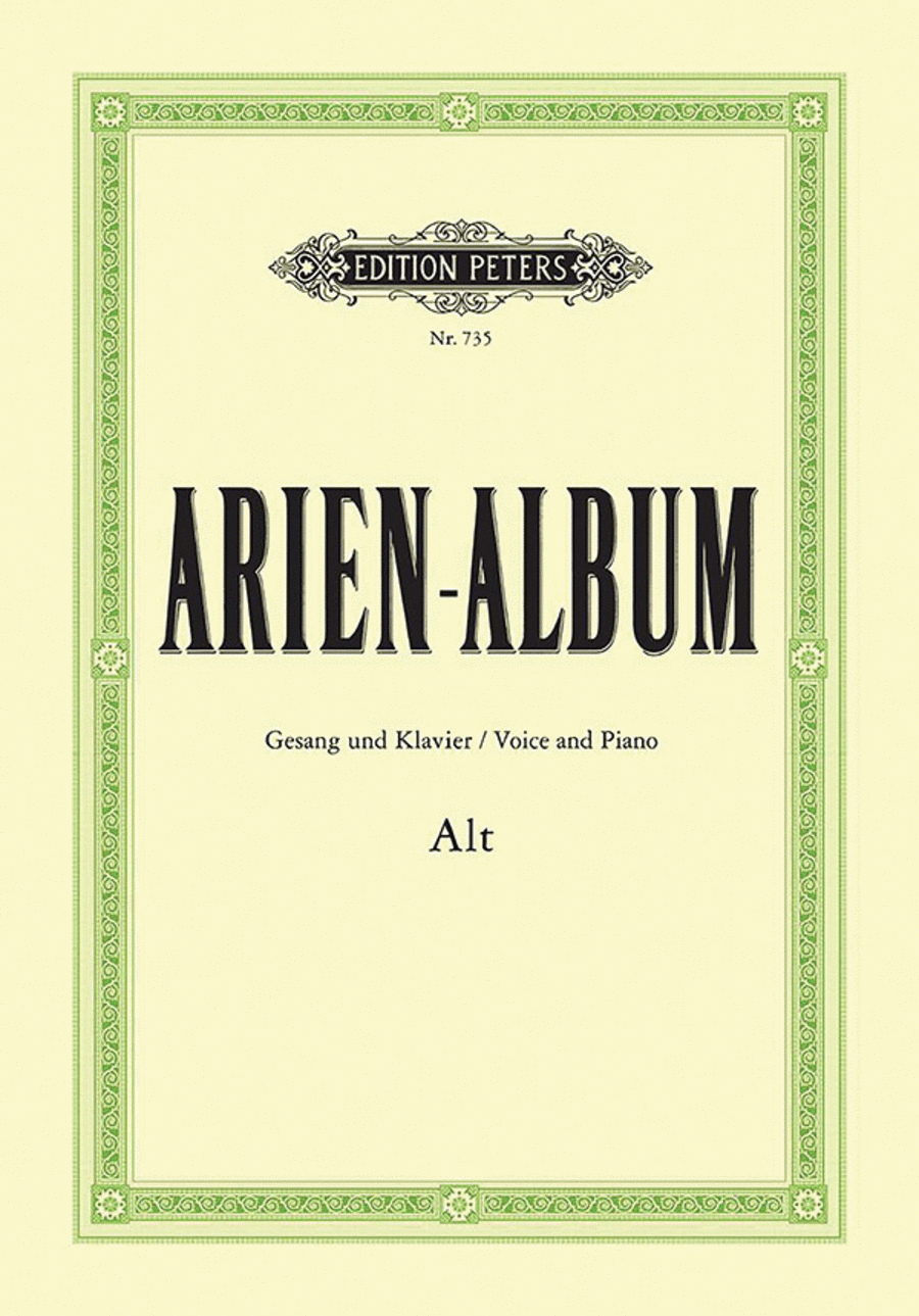 Aria Album - Famous Arias for Contralto