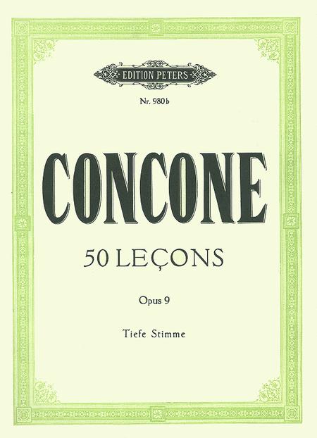 50 Lecons Op. 9