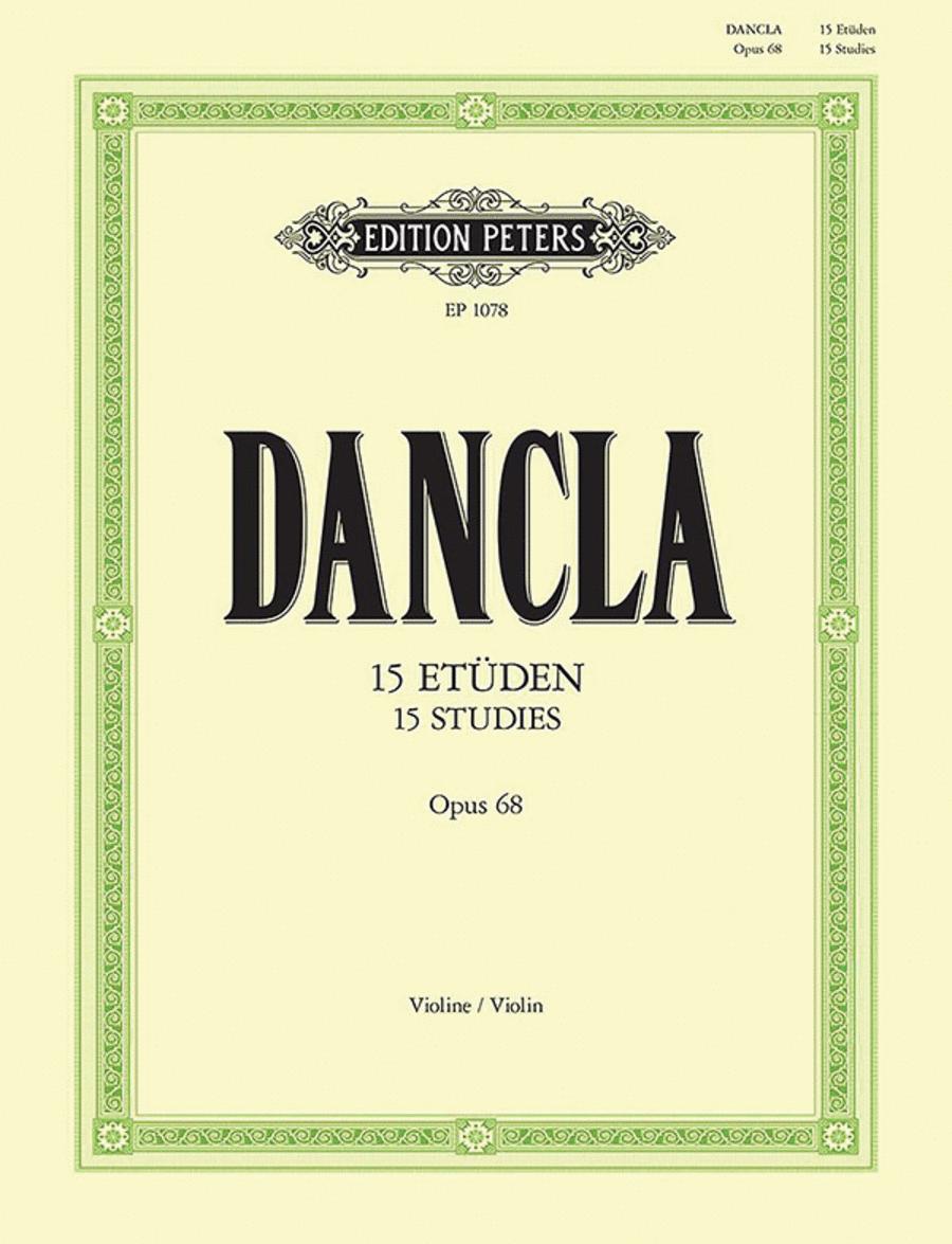 15 Studies Op. 68 for 2 Violins