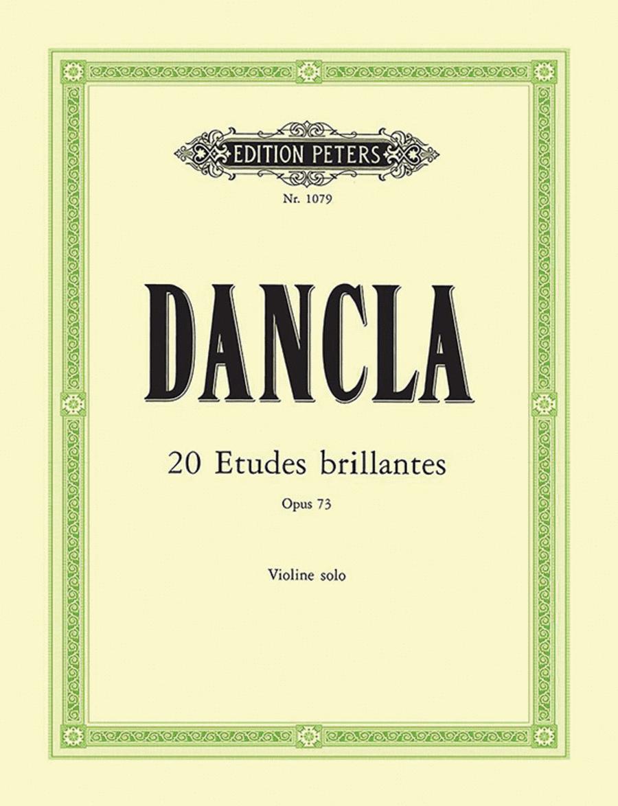 20 Violin Etudes (Etudes brillantes) Op. 73