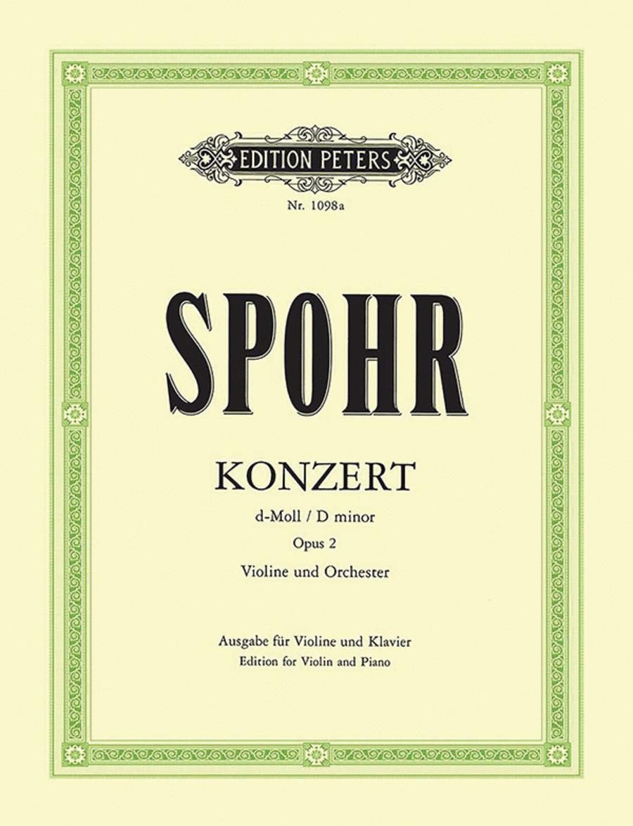Concerto No. 2 in D minor Op. 2