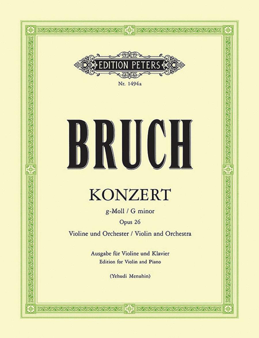Violin Concerto No.1 in g minor Op.26