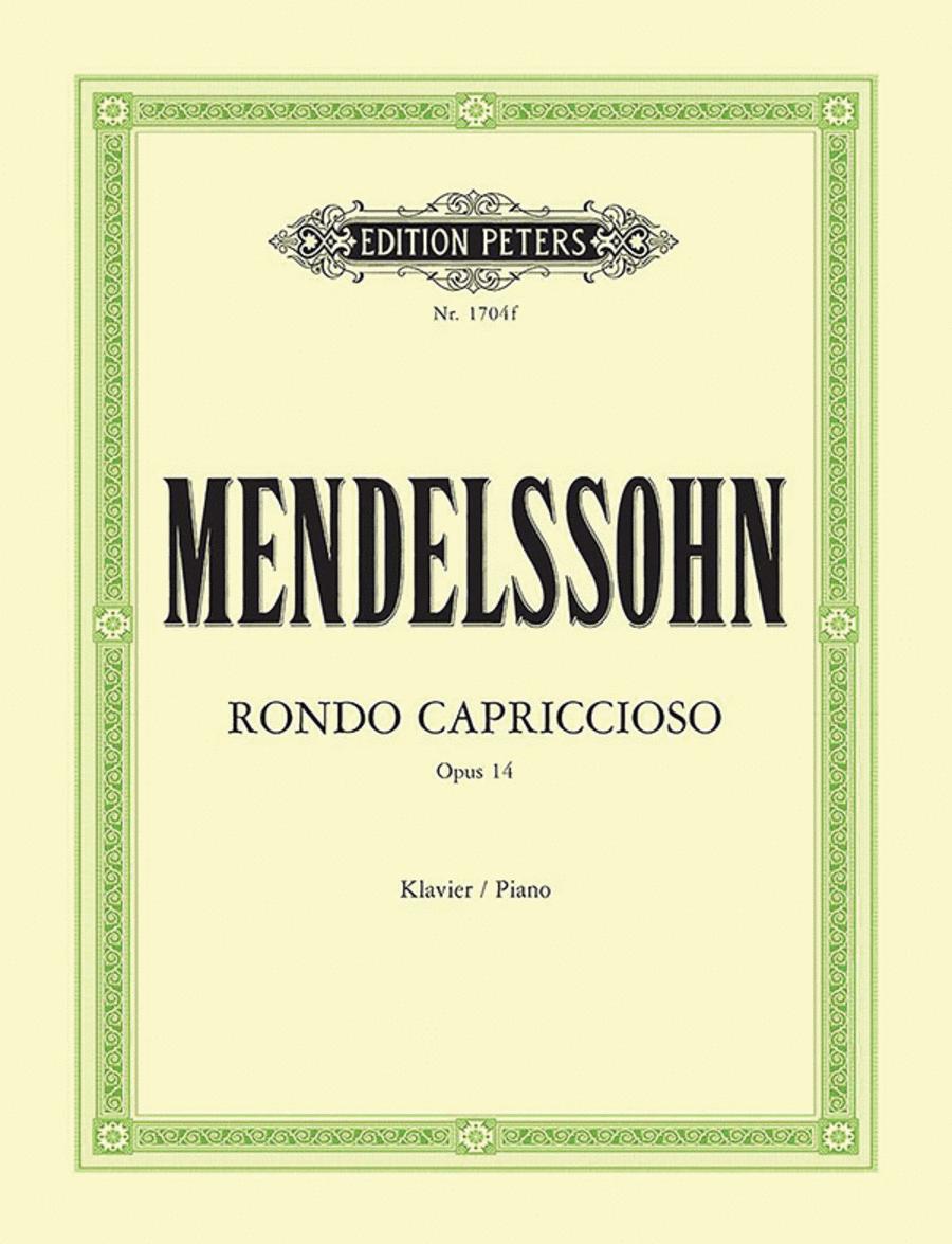 Rondo Capriccioso in E Major Op. 14 (1824)