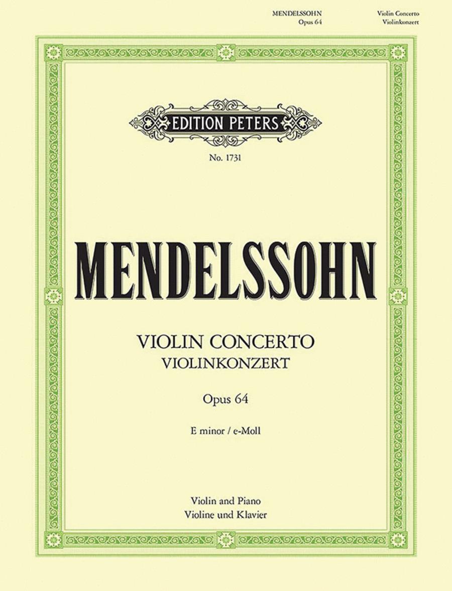 Violin Concerto in e minor Op. 64 (1844)