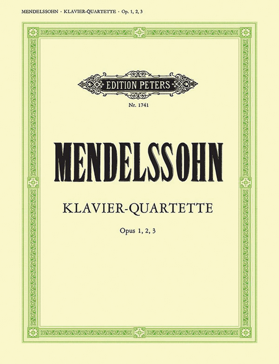 Piano Quartets, complete