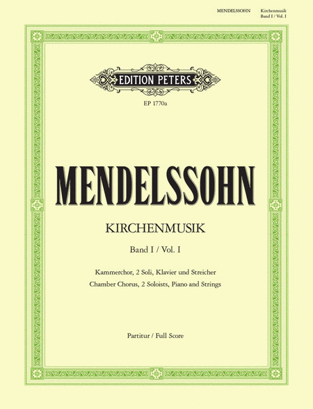 Kirchenmusik Vol I