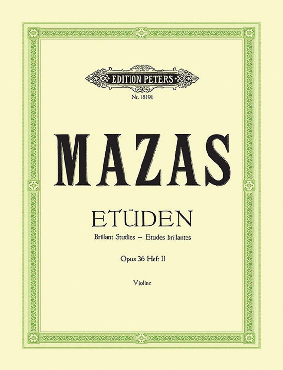 Studies Op. 36 Vol. 2: 'Etudes brillantes'