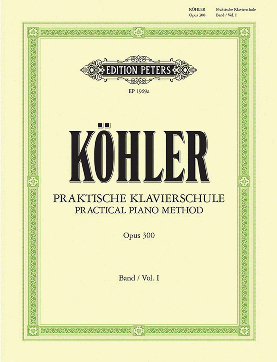 Practical Piano Method Volume I Op.300