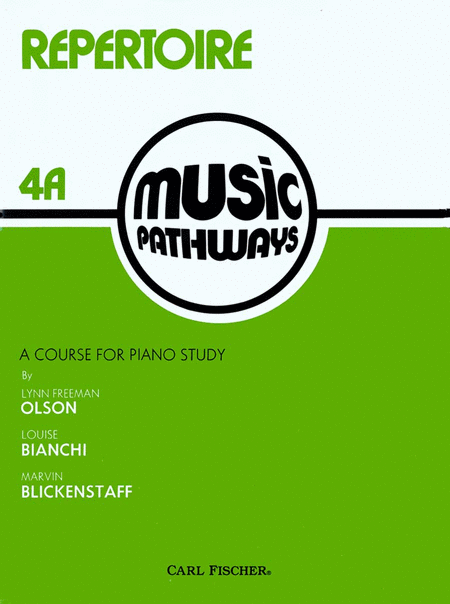 Music Pathways - Repertoire 4A