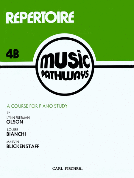 Music Pathways - Repertoire 4B