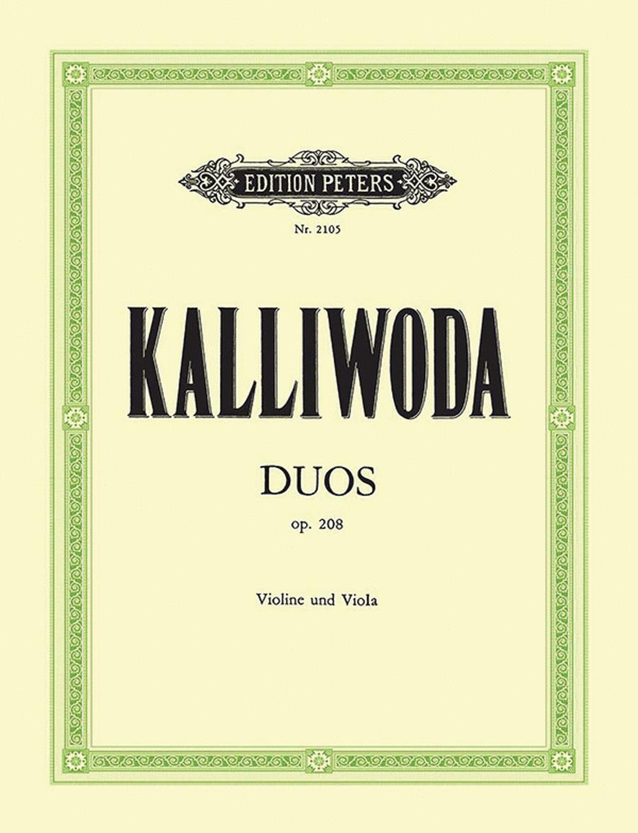 2 Duos in C G Op. 208