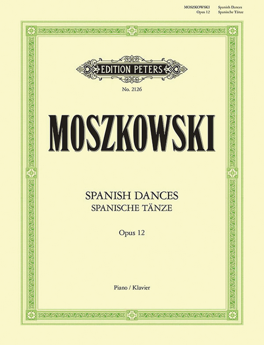 Spanish Dances Op. 12