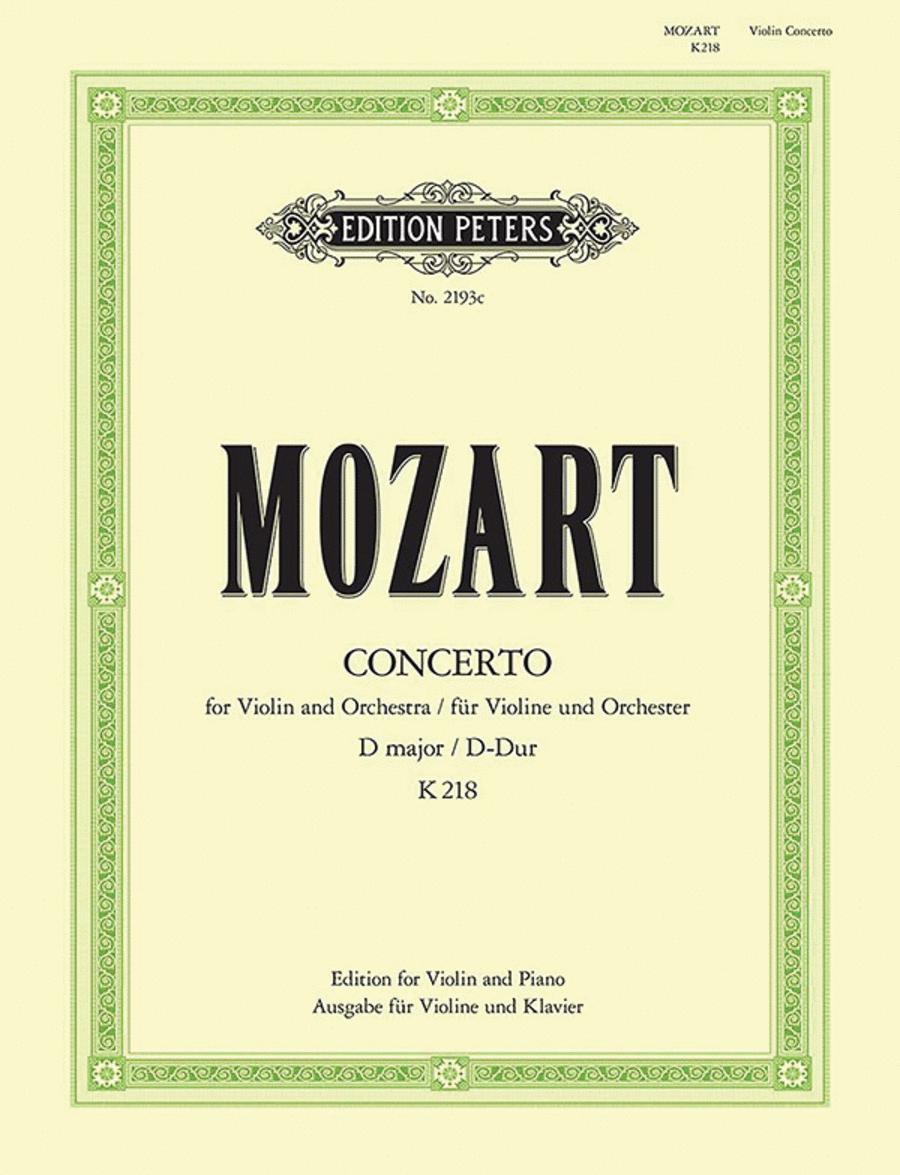 Concerto No. 4 in D K218
