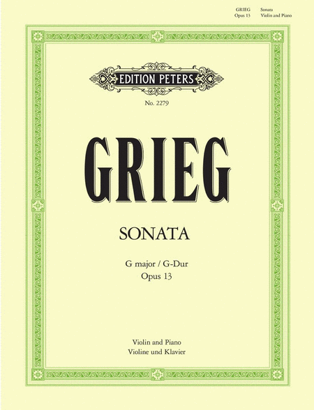 Sonata No.2 in G Op.13