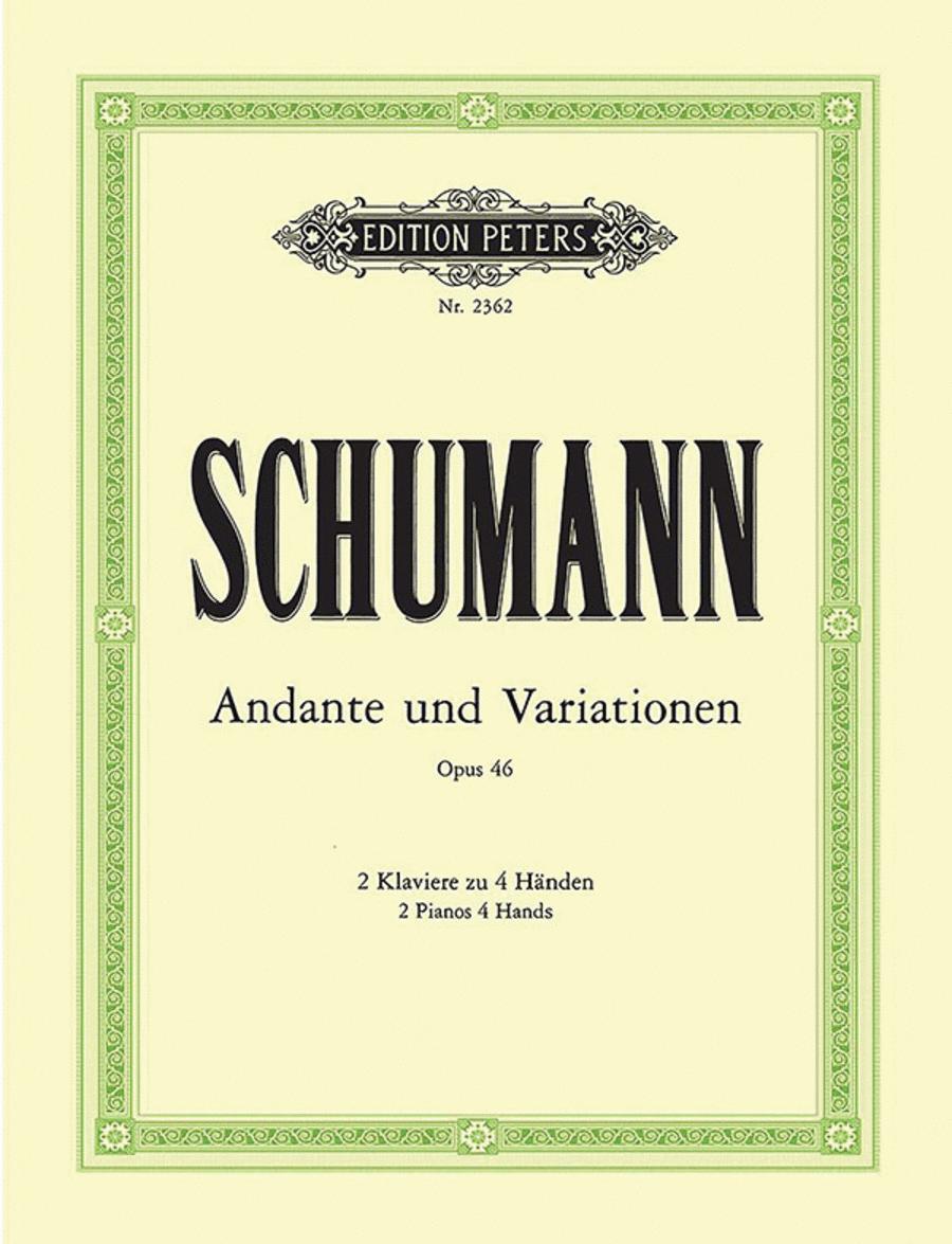 Andante & Variations in B flat Op. 46