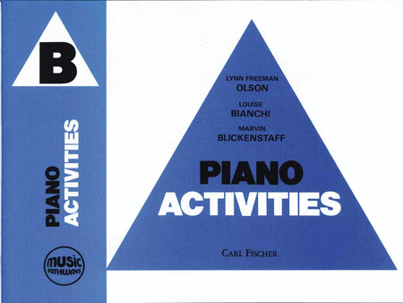 Music Pathways - Piano Activities B