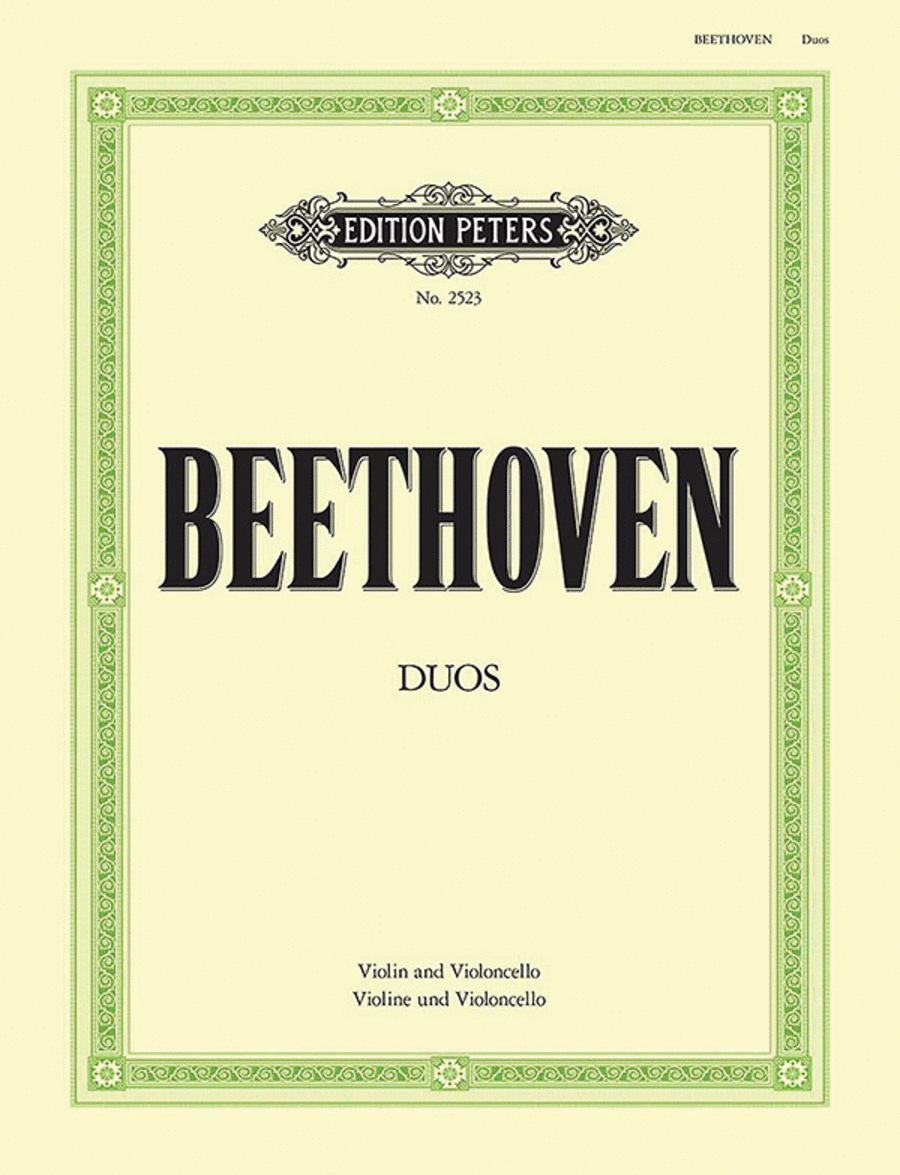 Duos for Violin and Violoncello