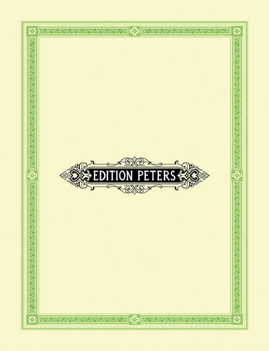 6 Male Choruses Op. 33
