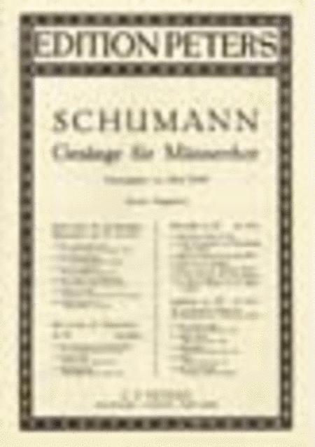 3 Songs for Men's Chorus Op. 62