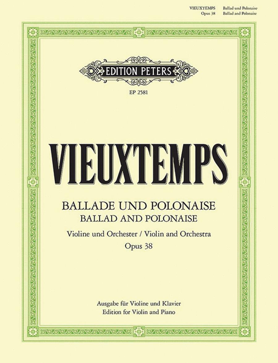 Ballade and Polonaise Op. 38