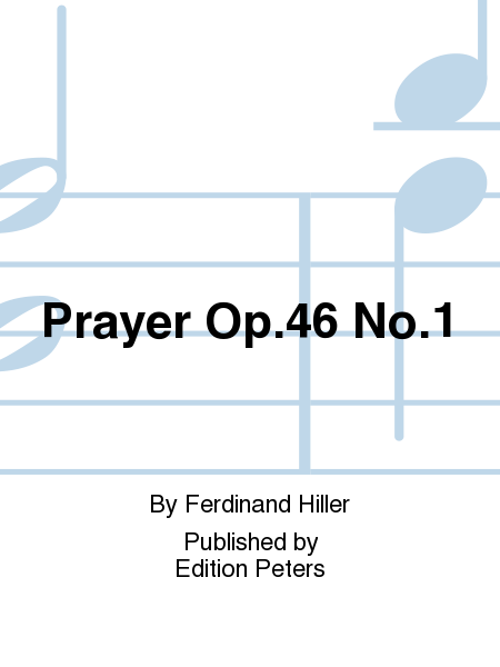 Prayer Op.46 No.1