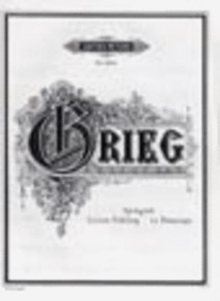 Springtide/Le printemps/Letzter Fruhling Op. 34 No. 2