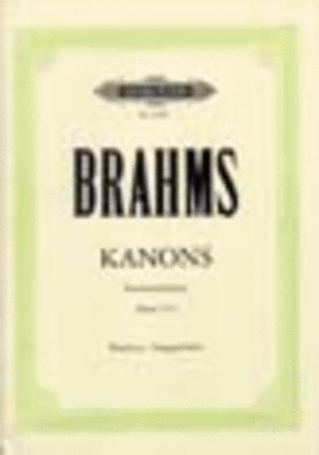Canons Op. 113