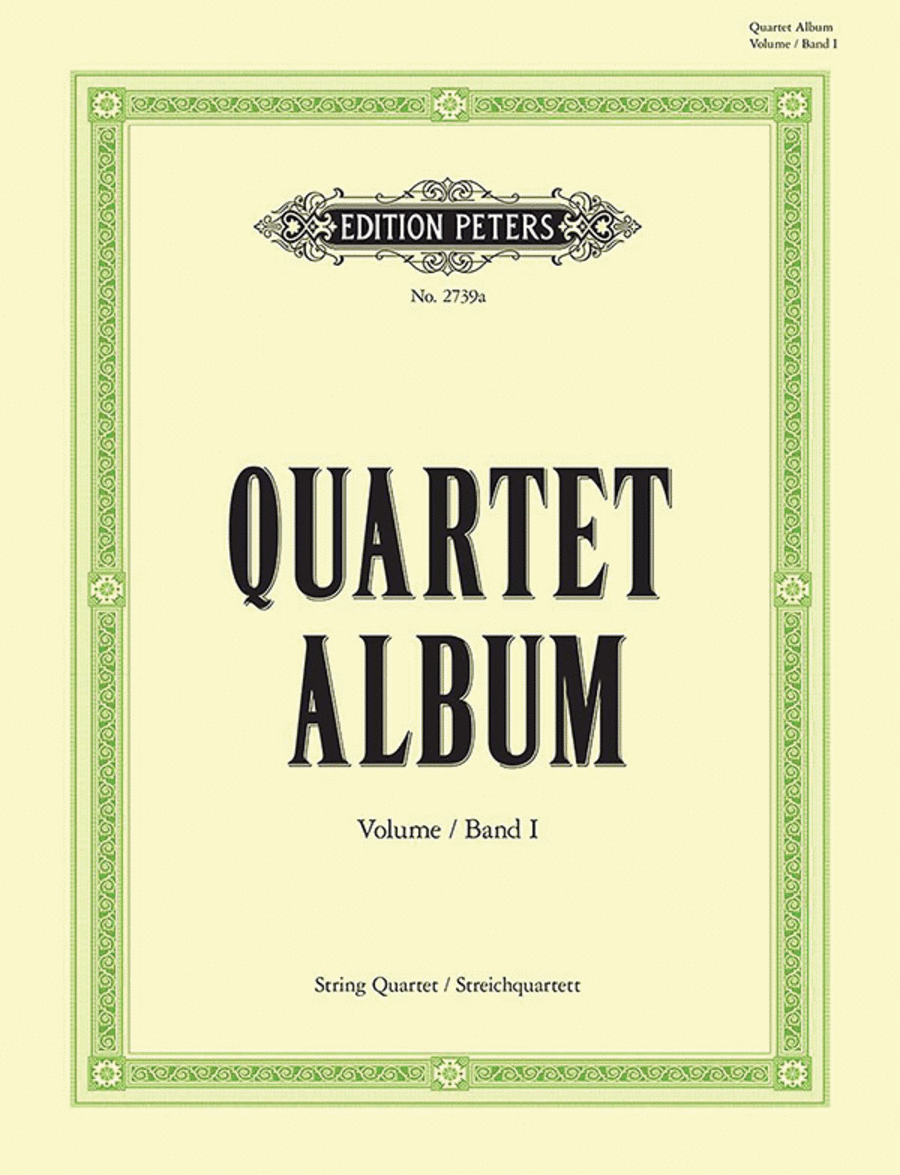 Easy Original Quartet Movements and Famous Pieces Vol.1
