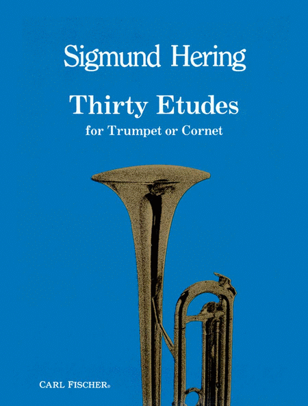 Thirty Etudes for Trumpet or Cornet