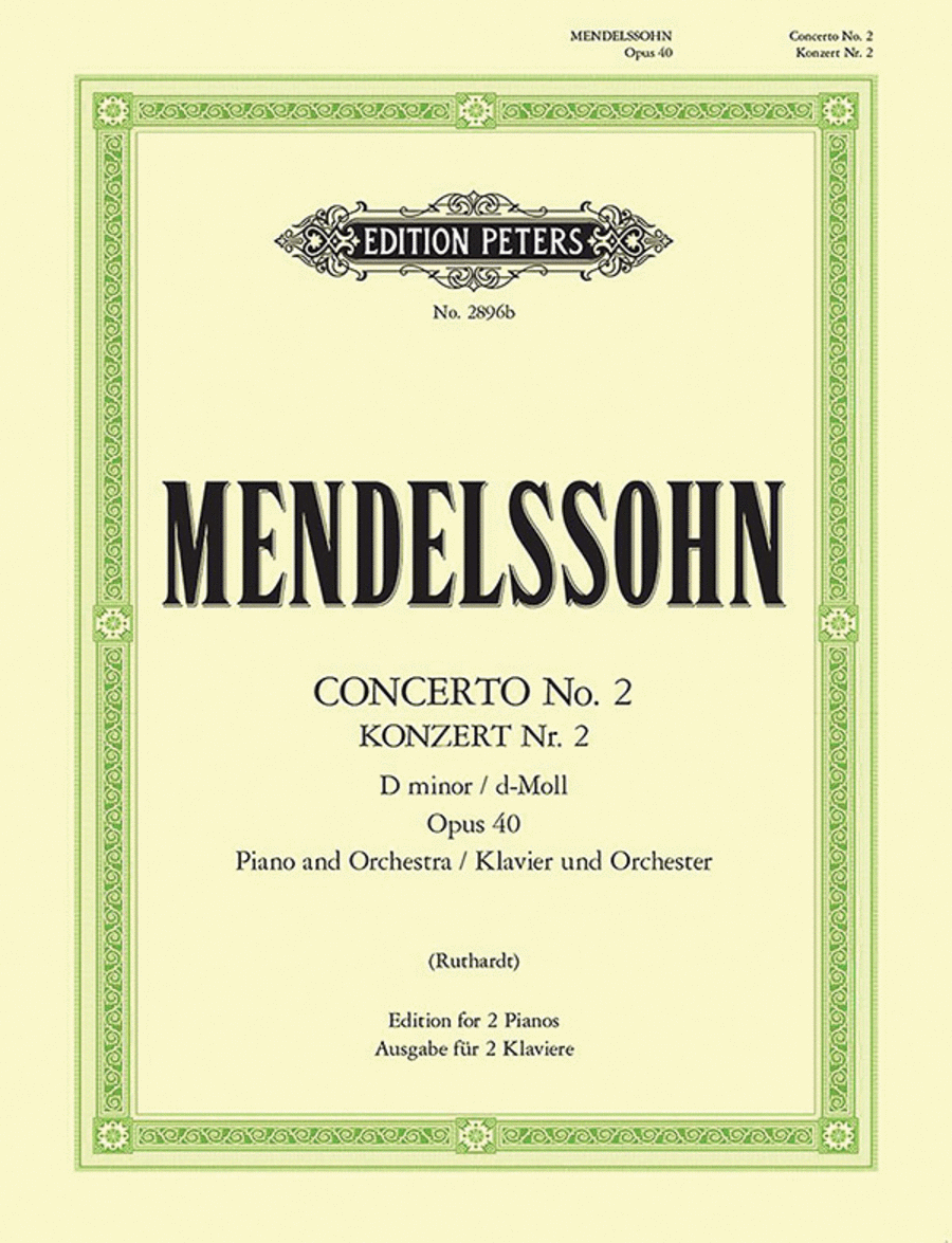 Concerto No. 2 in d minor Op. 40