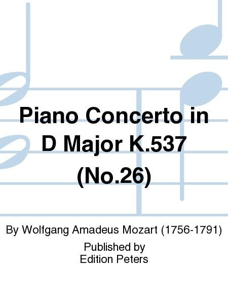 Piano Concerto in D Major K.537 (No. 26)