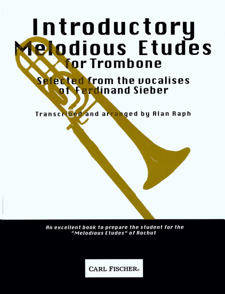 Introductory Melodious Etudes for Trombone