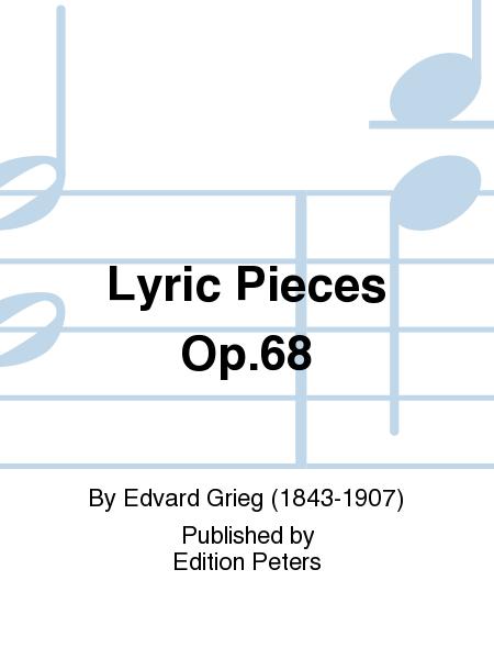 Lyric Pieces Op. 68