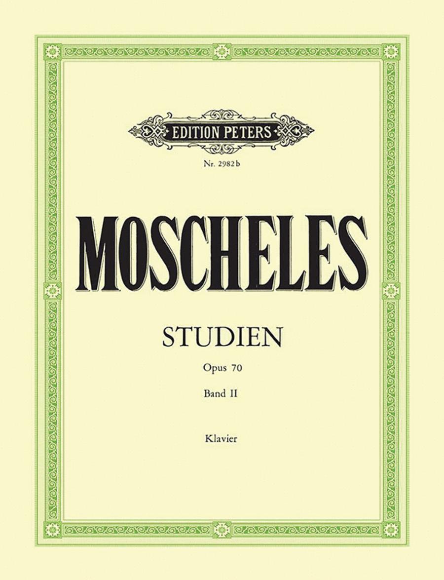 Studies Op. 70 Vol. 2