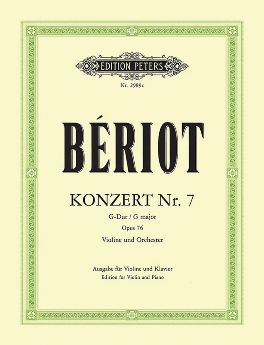 Concerto No.7 in G Op.76