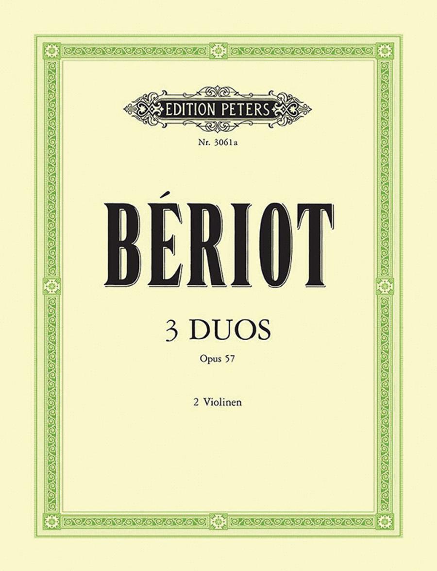 3 Duets Op. 57