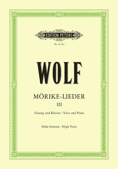 Morike-Lieder: 53 Songs Vol.3