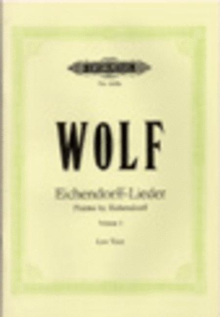 Eichendorff-Lieder: 20 Songs Vol. 1